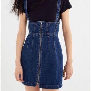 Urban Outfitters BDG Denim Overall Skirt